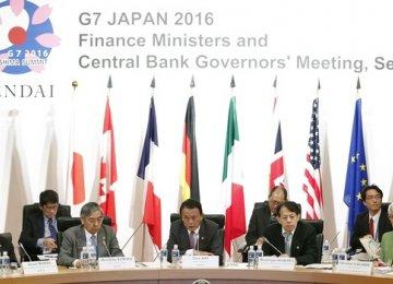 G7 Says Global Growth Under Threat
