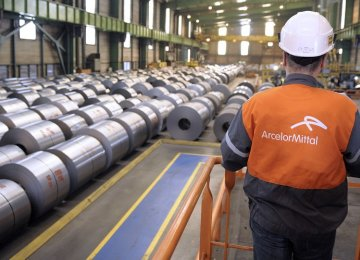 S. Africa Fines ArcelorMittal