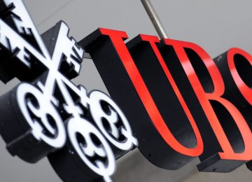 UBS Equities Revenue Down 22%