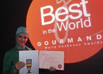 Award for Iran Woman Chef