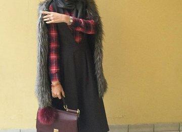 Young Iranian Promoting Hijab Fashion