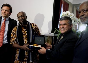 Kenyan, Malaysian Win Cartoon Peace Prize