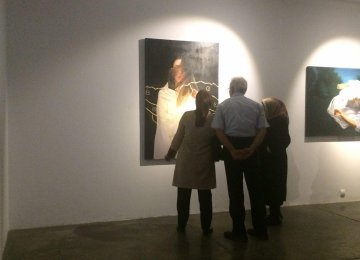 'Reflection' on View at Shirin Gallery