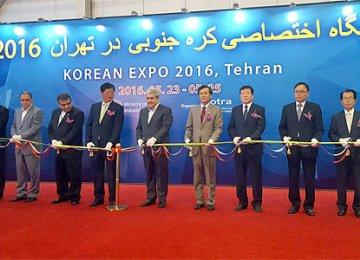 South Korean Firms in Tehran Seeking Business Partners