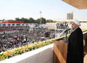 Rouhani Renews Vow to Revive Economy