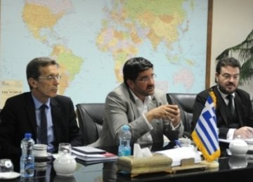 Greece as European Hub for Iran Exports