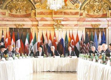 Zarif: ISSG Pursuing  Comprehensive Syria Ceasefire