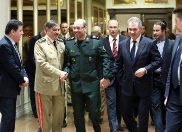Iran, Russia, Syria to  Step Up Anti-Terror Battle