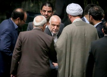 Iran's Oil Minister Defends IPC in Parliament Hearing