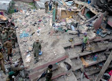 Search Underway for Nairobi Building Collapse Survivors
