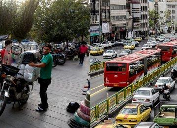 Tehran's Omnipresent Motorcycle Nuisance