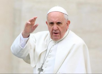 """Pope Complains of """"Haggard Europe"""""""