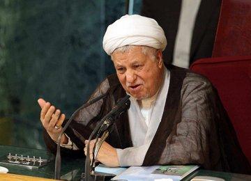 Rafsanjani May Seek Clerical Body Chairmanship