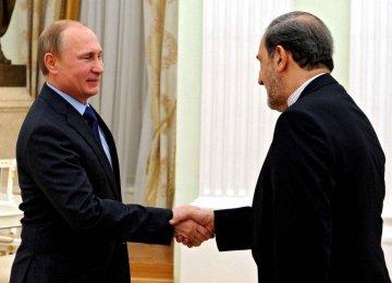 Rouhani's Envoy Meets Putin
