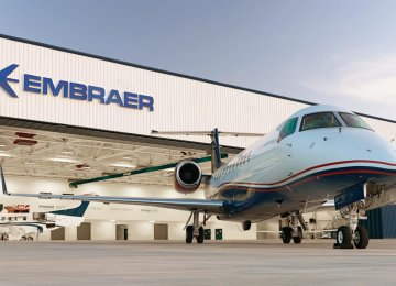 Embraer competes internationally with Canadian rival Bombardier for the title of third-largest airplane maker after Airbus and Boeing.