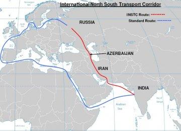 Azeri Co. Transports Cargo via INSTC