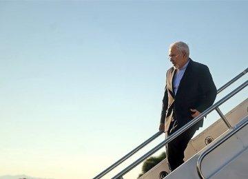 Zarif in Venezuela for NAM Meeting