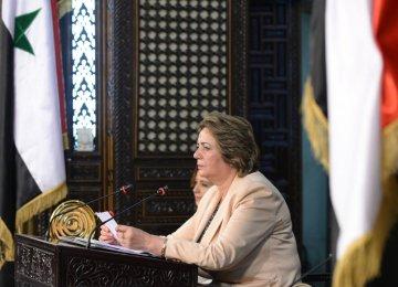 Syrian Parliament Speaker to Visit