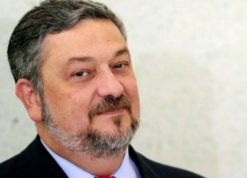 Ex-finance minister, Antonio Palocci, was detained in Sao Paulo, Brazil.