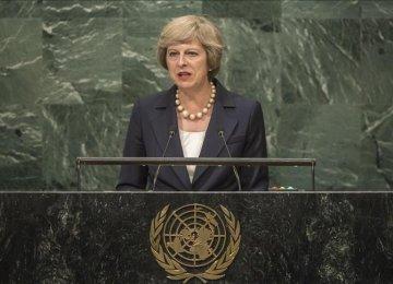 British PM Stresses Continued Int'l Coop.