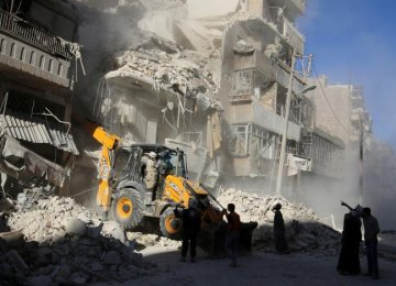 Syrian Troops Push Back Militants in Aleppo