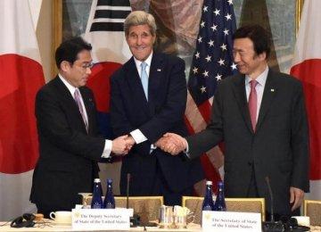 US, Japan, South Korea to Discuss North Korea