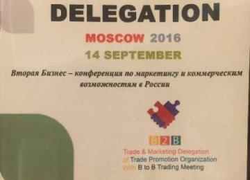Trade Delegation in Moscow