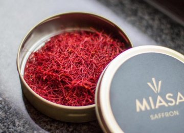 Miasa delivers large quantities of high quality saffron to industrial users.