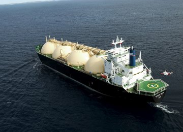Iran's gas exports have witnessed a 3.4% rise compared with last year's first half.