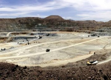 Iran is the leading copper producer in the Middle East and North Africa region, as it holds close to 14% of Asia's copper deposits and about 3% of global reserves.
