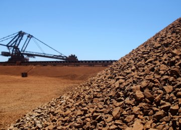 Rise in Iron Ore Concentrate Output