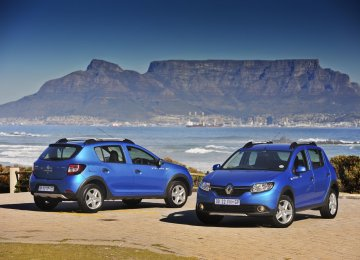 SAIPA is to produce 20,000 units of Sandero Stepway annually.