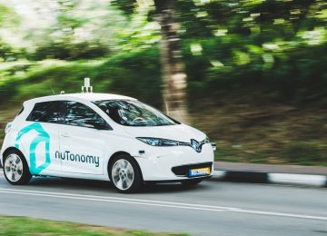 Driverless Taxis Taking over Singapore