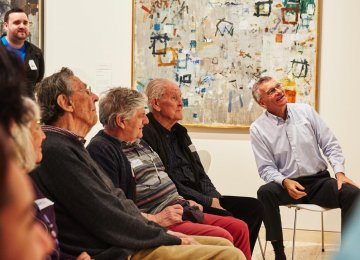 Art Alleviates Anxiety in People With Dementia
