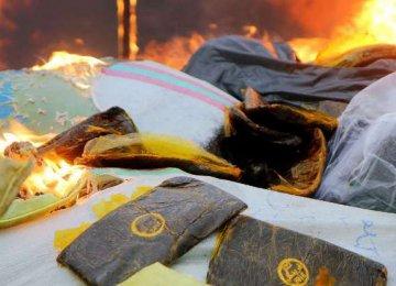 Drugs Seized in Hormozgan