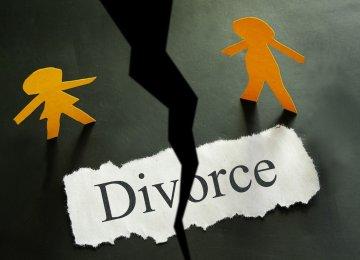 Divorce Rate Grows