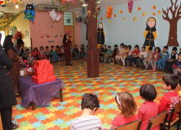 Each kindergarten is given a quality star rating, ranging from 1 to 3 stars.
