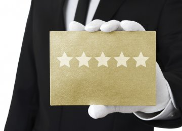 The star ratings are honorary and don't reflect the quality of service and amenities.