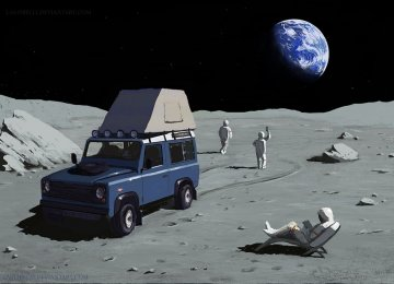 Camping on the Moon might not be too far away. (Illustration: Lasthielli)