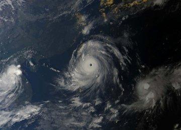A composite image of Category 5 super typhoon Meranti (Photo: Eumetsat)