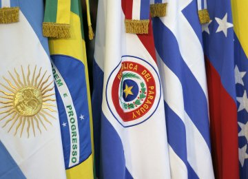 Mercosur Threatens to Suspend Venezuela
