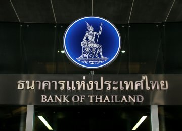 Thai CB Holds Key Rate
