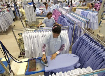 Cambodia's economy remains robust with exports from the garment and footwear industry rising by 9.4%  in the first half of this year.