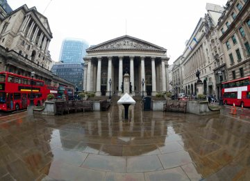 UK in Midst of Economic Shock