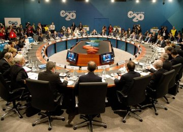 G-20 Vows $2t  Global Growth Push