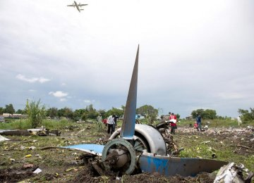Antonov-12 Crash Kills 41