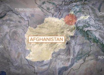 Big Quake in Afghanistan