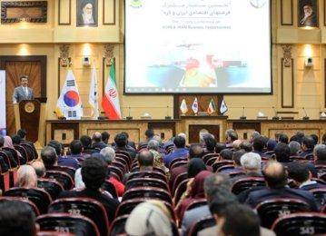 Tehran, Seoul Explore Ways of Sustaining Trade Cooperation