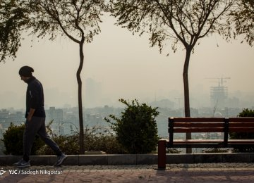 Choking Haze Sends Hundreds of Tehran Residents to Hospitals