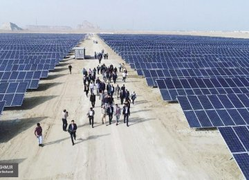 Cost of Renewable Power Falling Rapidly in Iran